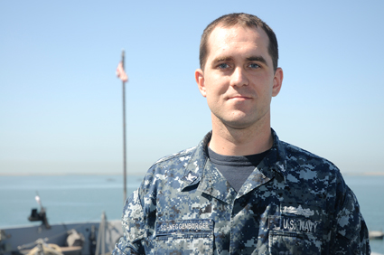 Petty Officer 3rd Class Jesse Schneggenburger