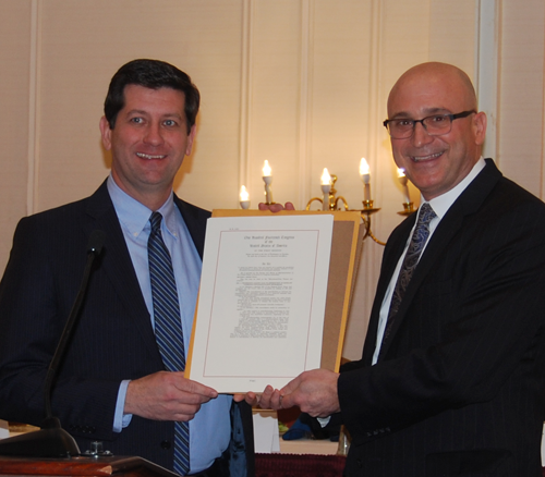 Erie County Executive Mark Poloncarz, left, and Stephen J. Acquario.