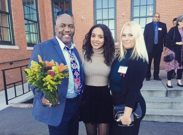 Thurman Thomas and family. (Photo provided by event organizers)