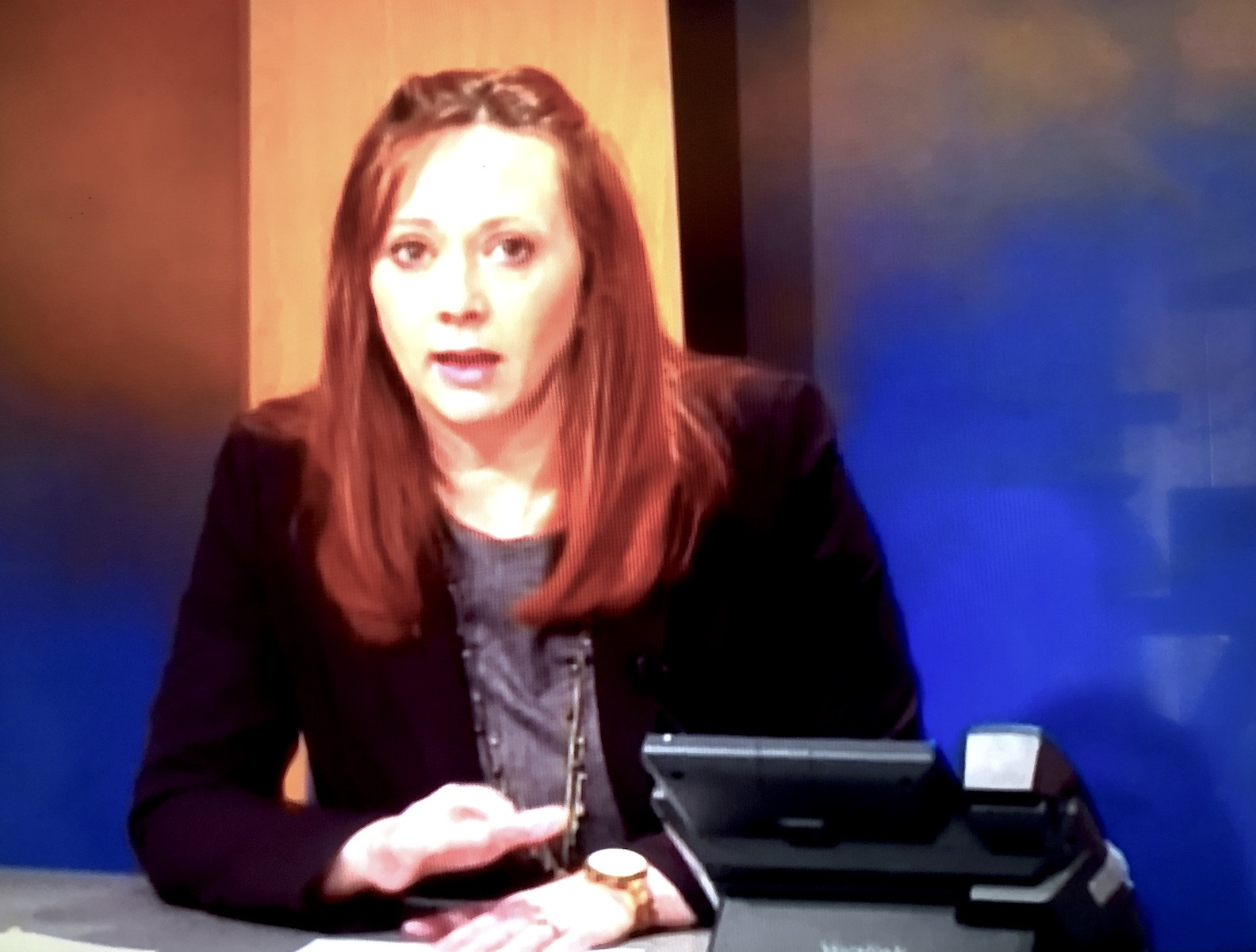 Becky Wydysh addressed Niagara County residents and media outlets Friday on LCTV.
