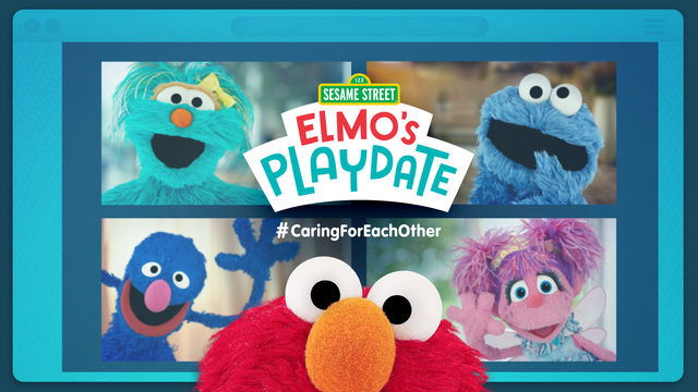 `Sesame Street: Elmo's Playdate` is designed to brighten families' day. (WarnerMedia image)
