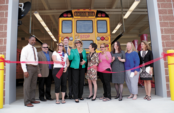 Grand Island CSD: Ribbon cut on new transportation center