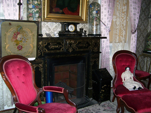 The Victorian parlor in the History Center's Outwater House. (Submitted photo)