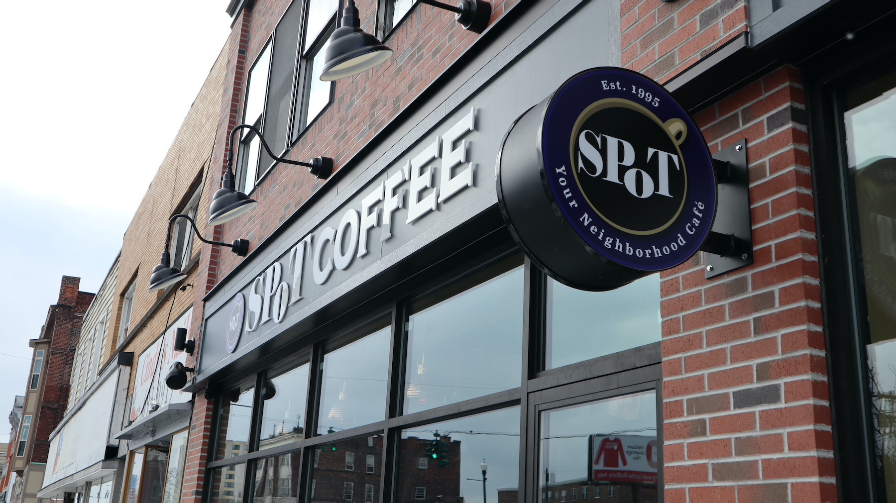 North Tonawanda city officials welcomed Spot Coffee to 54 Webster St.