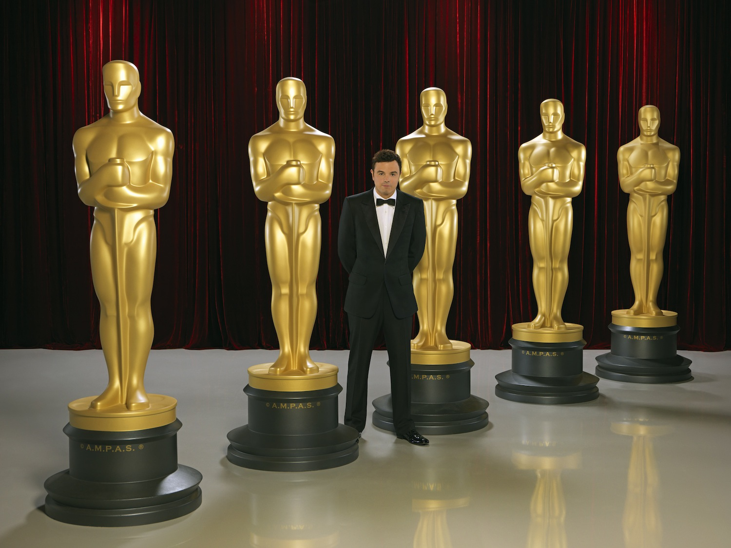 Seth MacFarlane will host The 85th Annual Academy Awards, broadcasting live on `Oscar Sunday,` Feb. 24, on the ABC Television Network. (photo by Bob D'Amico/ABC)