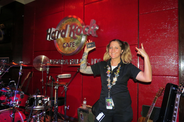 Naomi Langworthy takes the Hard Rock `BARocker` title.