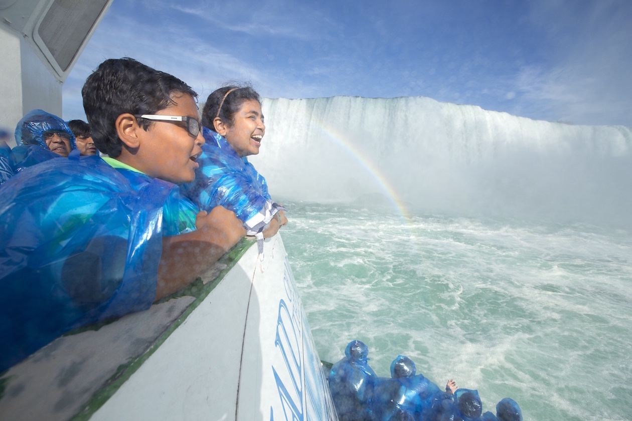 The Maid of the Mist and the Cave of the Winds (below) are two of the world-famous activities at Niagara Falls State Park. (Photos courtesy of Destination Niagara USA)