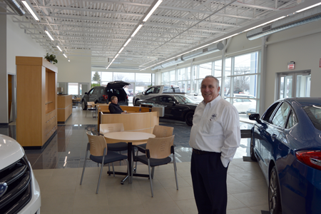 Basil Ford Niagara Falls >> Basil Ford's new showroom offers updated amenities