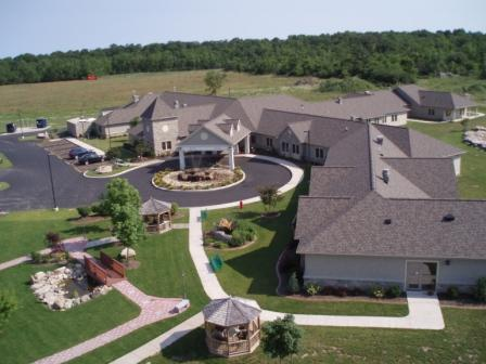 An aerial view of the Niagara Hospice House campus where the 25th anniversary gala, `Under the Stars,` will take place.