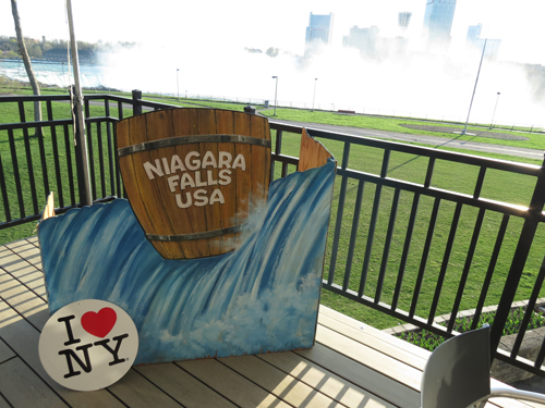 The `I Love New York` Empire State Tourism Conference moved this year from its normal downstate location to sunny Niagara Falls, USA.