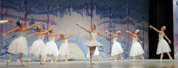 "A scene from last year's performance of ""The Nutcracker"""