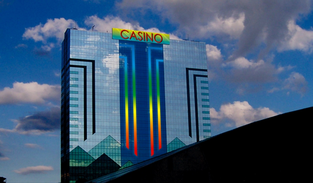 An artistic rendering of the new sign at Seneca Niagara Casino & Hotel.