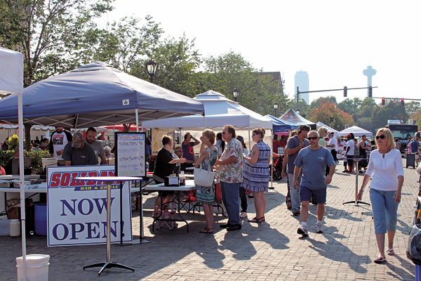 Shown is a scene from last year's Taste of Niagara Falls. This year, the event will take place from noon to 8 p.m. Sept. 3 and 4 on Old Falls Street.
