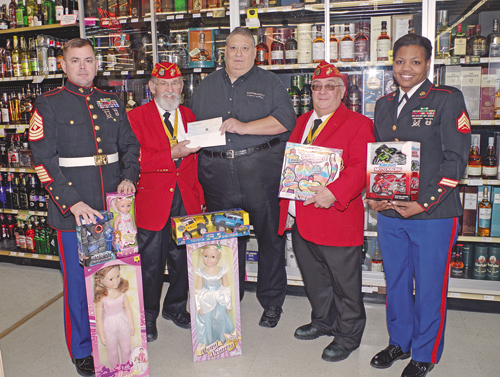 Toys For Tots 2013 : Toys for tots program beneficiary of donation by