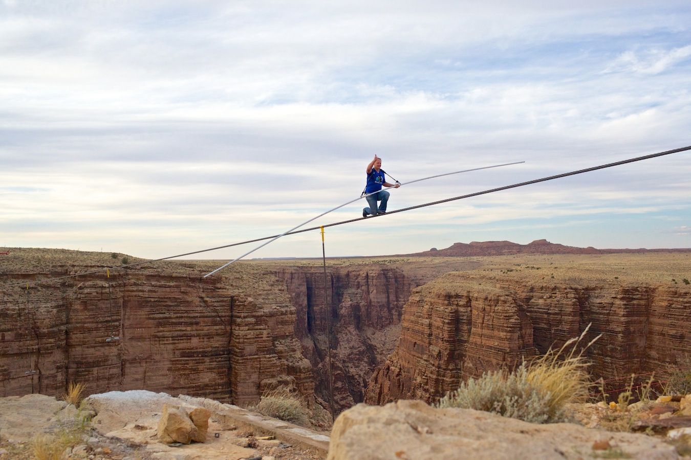 Nik Wallenda (Discovery Channel photo)