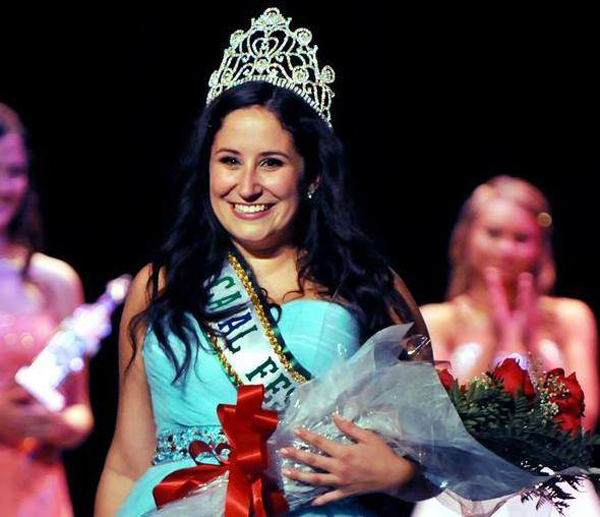 Victoria Lyle, 2014 Canal Fest queen, is shown at last year's pageant.
