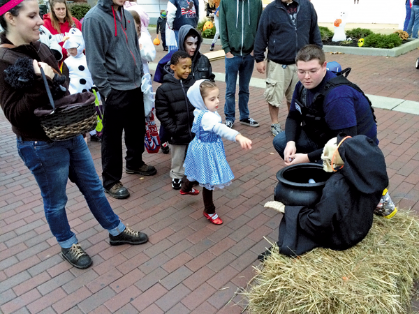 Trick-or-treaters and their families gathered to partake in kid-friendly activities during last year's NT Haunted Harbor event. (Contributed photos)