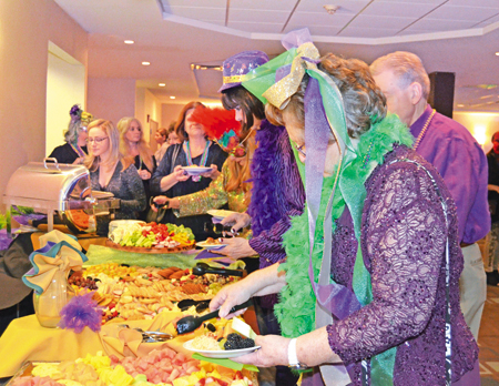Louisiana-inspired hors d'oeuvres and Cajun cocktails were served up at the Four Points by Sheraton Niagara Falls for Mardi Paws.