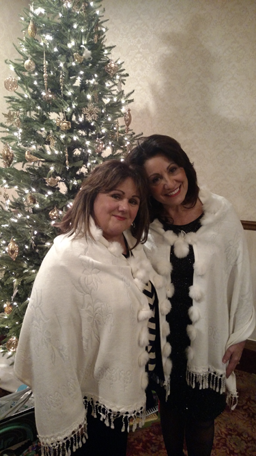 Chamber of Commerce of the Tonawandas Board member Beverly Loxterman poses for a photo with Executive Director Angela R. Johnson-Renda at the chamber's annual