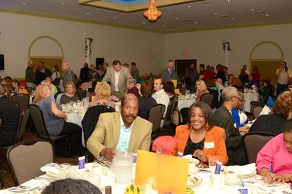 Last year's banquet, with 400 supporters on hand.