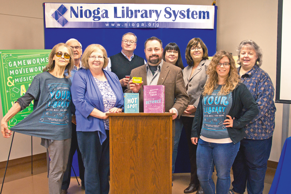 Shown are NIOGA board members and staff. (Photo by Joe Russell)