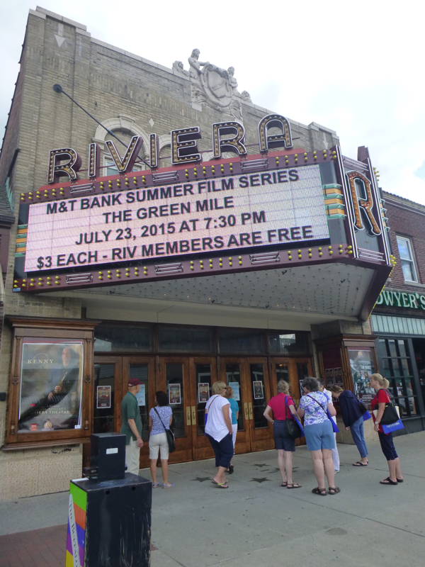 Participants in the Explore Buffalo tours held recently in North Tonawanda got a glimpse of six locations on the National Historic Register, including the Riviera Theatre, the Herschell Carrousel Factory Museum and the Carnegie Art Center. (Photos by Jill Keppeler)