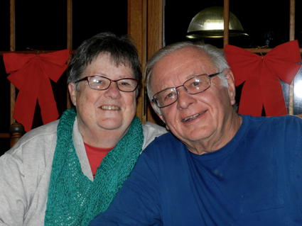 Barbara and John Jesz were named Citizens of the Year.