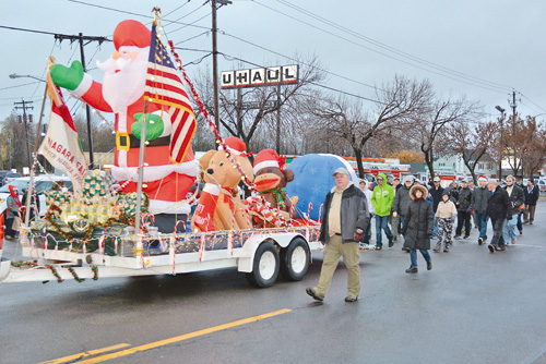 Pictured is a colorful entry in the 2013 Niagara Electric Lights Parade. (photo by Marc Carpenter)