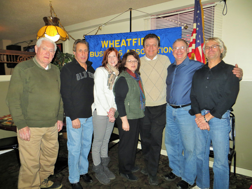 WBA officers, from left, are Bill O'Farrell, Jim Candella, Michelle Caswell, Sharon DiPasquale, Rob Allen, Gillis Dube and Danny Maerten.