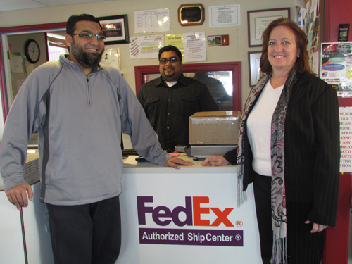 From left: Fahim Mojawalla, Jeff Hussain and Liz Wilbert.
