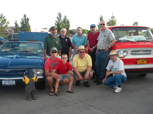 The June meeting of the Niagara Frontier Corvair Club took place June 16 at Adrian's Custard and Beef, 2335 Grand Island Blvd. Eight Corvairs were on display. Members of the NFCC look forward to seeing Islanders next month at Adrian's as well.