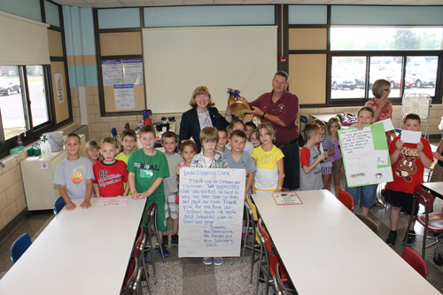 Kaegebein Elementary School recognized a group of unsung heroes in education Thursday.