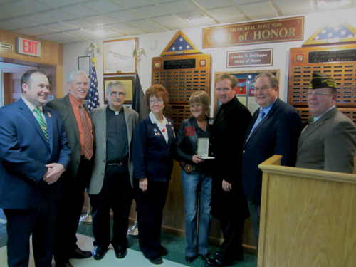 Local elected officials paid tribute to the late Richard Blasinski.