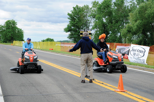 Pictured is the 2014 Grand Island Fathers Day Lawn Mower Race & Classic Car Show. (File photos)