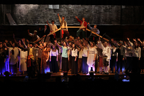 Grand Island High School will bring Victor Hugo's story `Les Misérables` to life this weekend. The show opened Thursday night and continues Friday at 7:30 p.m., and Saturday at 2 and 7:30 p.m. Approximately 100 students have combined to put the annual spring musical together.