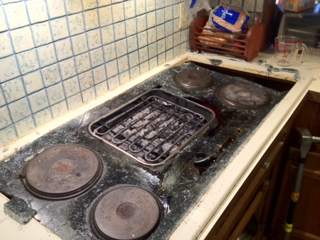 A stove fire on Sept. 28 caused an estimated $1,000 damage to a Love Road home. (photo by Matt Osinski/Grand Island Fire Co.)