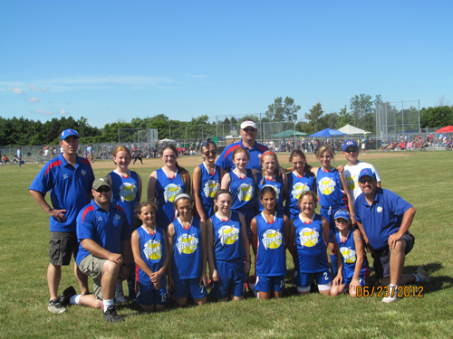 The Grand Island Vipers under-12 girls travel softball team competed at the Coaster Classic Tournament in Sandusky, Ohio, June 22, 23 and 24, which featured teams from New York, Ohio and Pennsylvania. The team includes, from left, front row: coach Mike Fay, Abigail Fay, Marissa Hovey, McKenna Davis, Emily Cordero, Sam Pusatier, Abbey Klee and Coach Jeff Richard. Back row: Coach John Faso, Taylor Raine, Savannah Sipe, Emma Richard, Julia Diehl, Coach Rob Diehl, Jenna Tavano, Jessica Faso, Alyssa Ruminski, Coach Mike Pusatier.