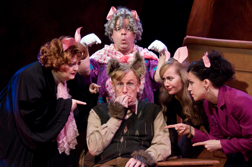 The acclaimed Dallas Children's Theater will bring its national touring production of `The True Story of the 3 Little Pigs!` to the Artpark Mainstage Theater in Lewiston on May 22, 2013.