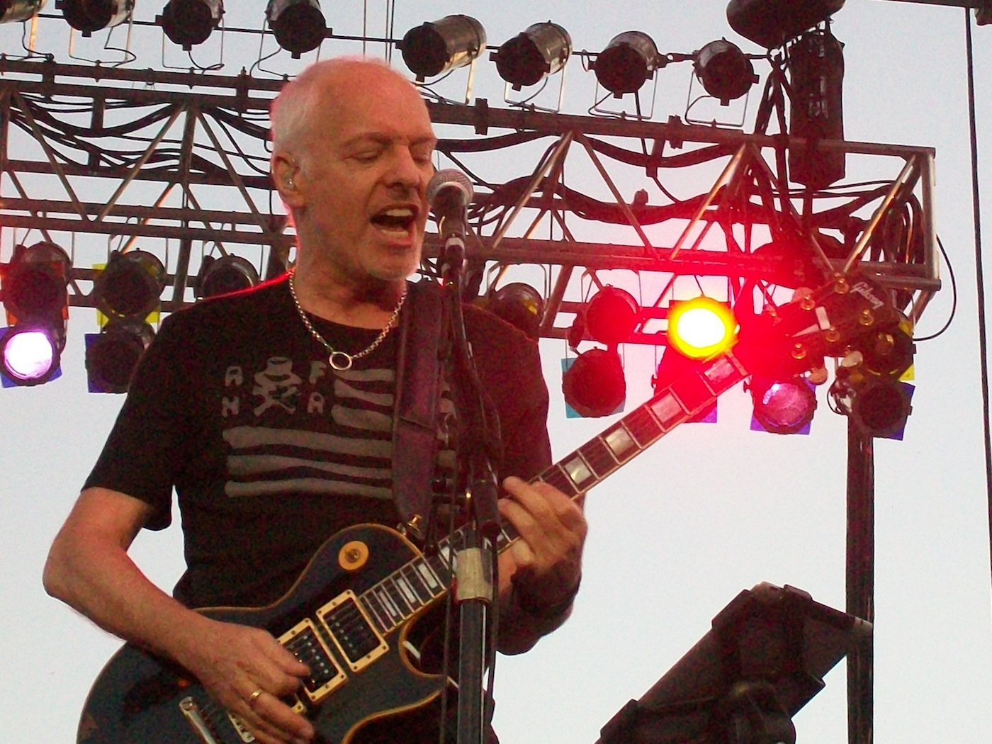 Peter Frampton performs at Artpark on Aug. 7.