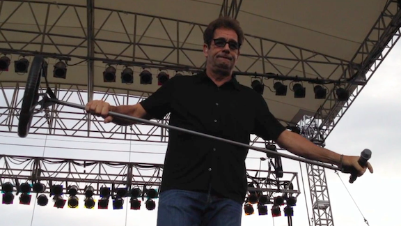 Huey Lewis at Artpark.