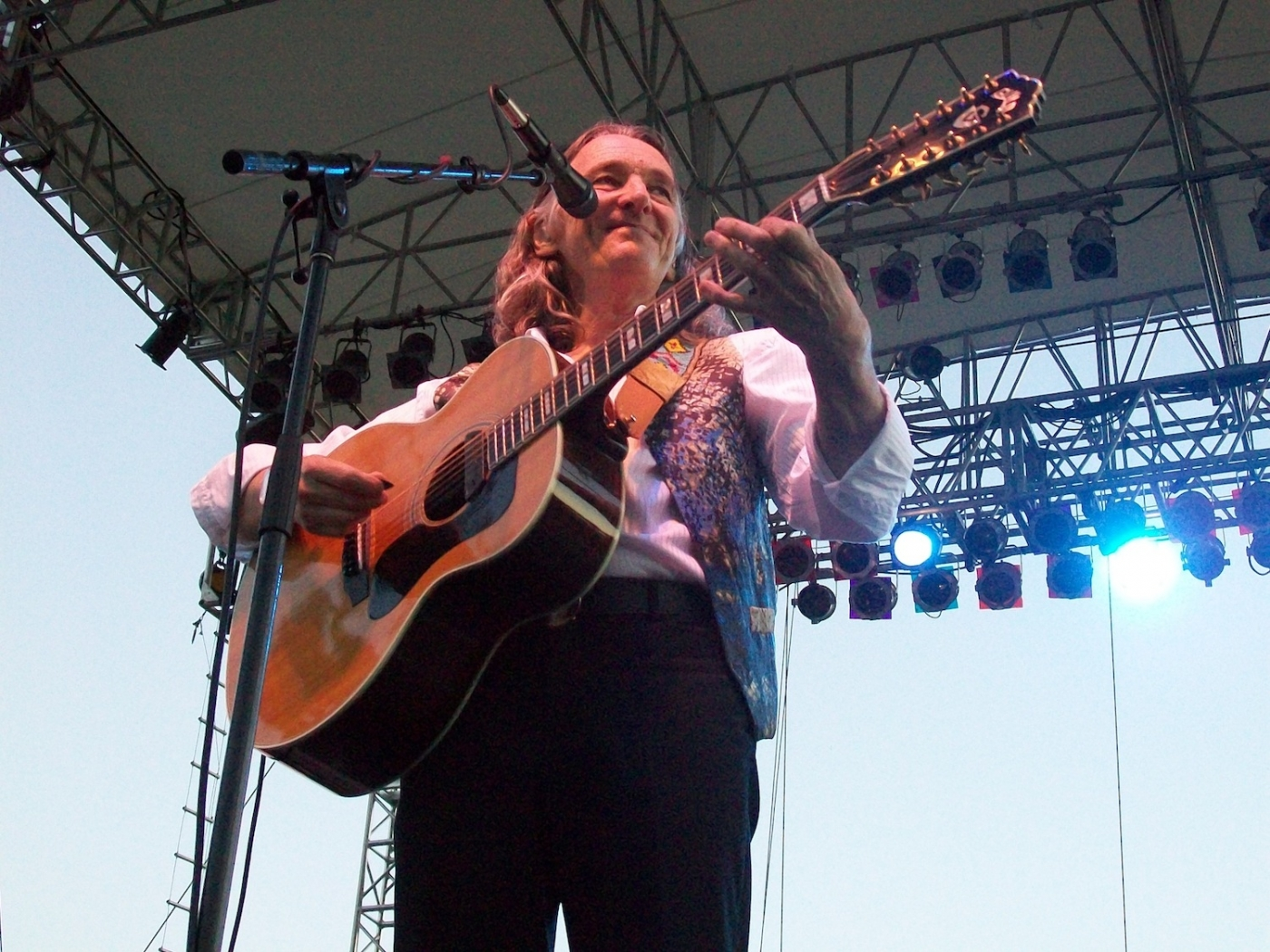 Pictured is Roger Hodgson performing at Artpark in 2012.