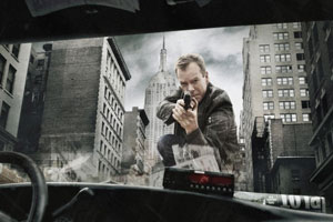 Kiefer Sutherland as Jack Bauer in `24.` (photo: Fox Broadcasting Co./Cr:Brian Bowen Smith)