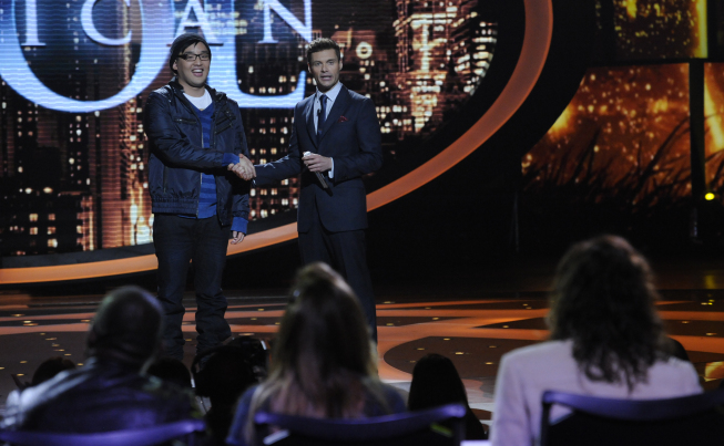 Heejun Han was eliminated Thursday on `American Idol.` (photo by Phil Mcarten/FOX)