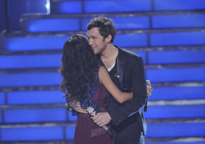 `American Idol`: Phillip Phillips is the season 11 winner. (photo by Michael Becker/FOX)