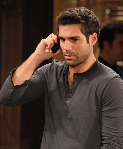 `All My Children's` Dr. Griffin Castillo (Jordi Vilasuso). (image copyright of ABC; photo by Michael Yarish)