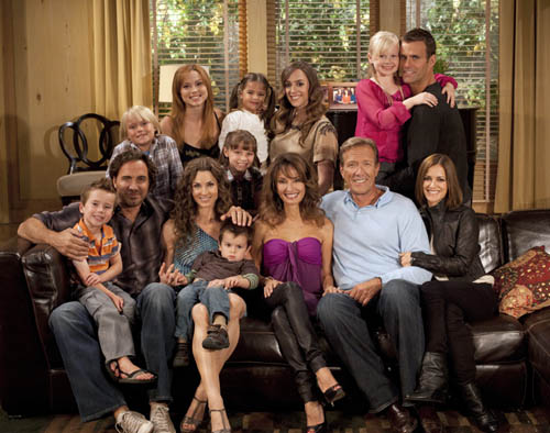Members of the cast of `All My Children.` (photo by ABC/Rick Rowell)