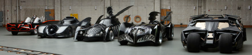 The Batmobile collection.
