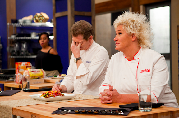 Bobby Flay and Anne Burrell return in `Worst Cooks in America.`