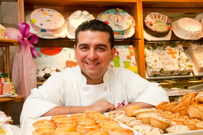 The `Cake Boss` Buddy Valastro.