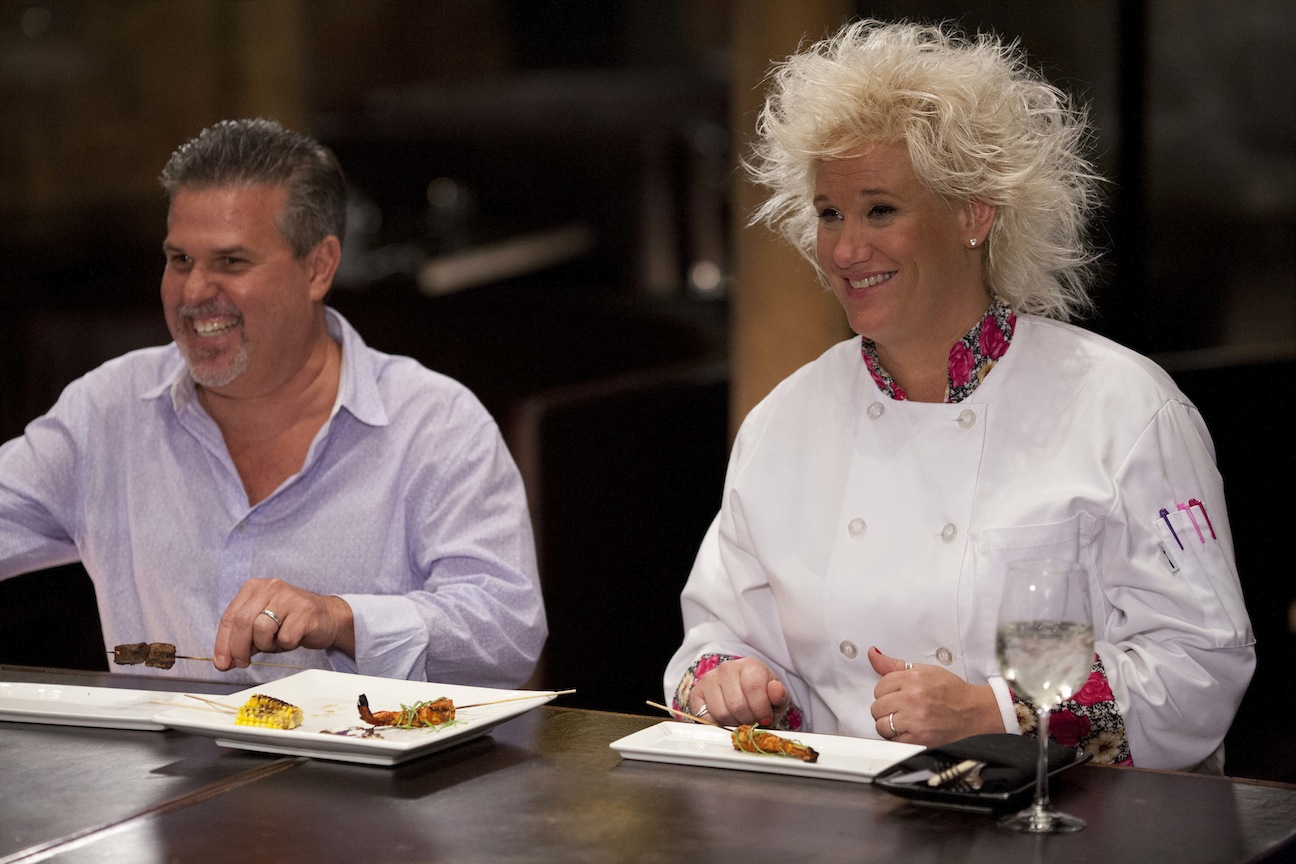 `Chef Wanted with Anne Burrell`: Host Anne-Burrell and Richard Sandoval, chef and owner of Zengo. (Food Network photo)